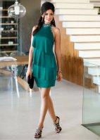 Quel maquillage avec une robe verte emeraude