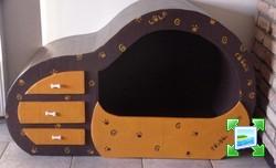 petit meuble lit en carton pour mes chihuahuas forum manucure nail art et ongle. Black Bedroom Furniture Sets. Home Design Ideas