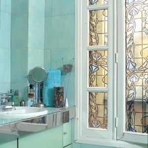 Cherche film opaque pour fenetre de salle de bain forum manucure - Fenetre salle de bain opaque ...