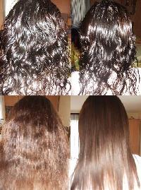 Lhuile pour la croissance des cheveu avec les vitamines