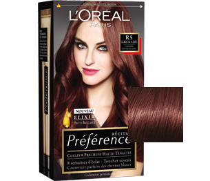 et celle de la gamme prfrence - Marron Chocolat Coloration
