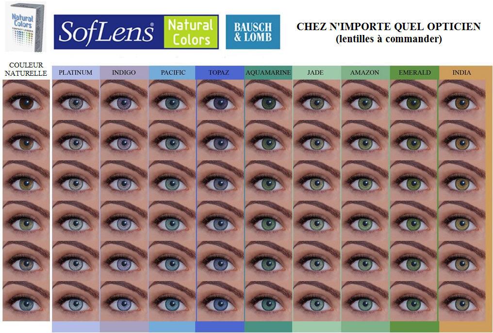 essayer des lentilles de couleurs Venez découvrir le plus grand choix de lentilles de couleur du web et profitez des conseils d'un opticien et de la livraison gratuite 48h.