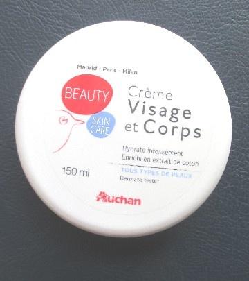 Crème Hydratante Visage et Corps de Auchan