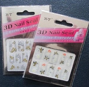 Stickers 3 D Nail seal