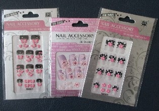 Stickers Nail Accessory