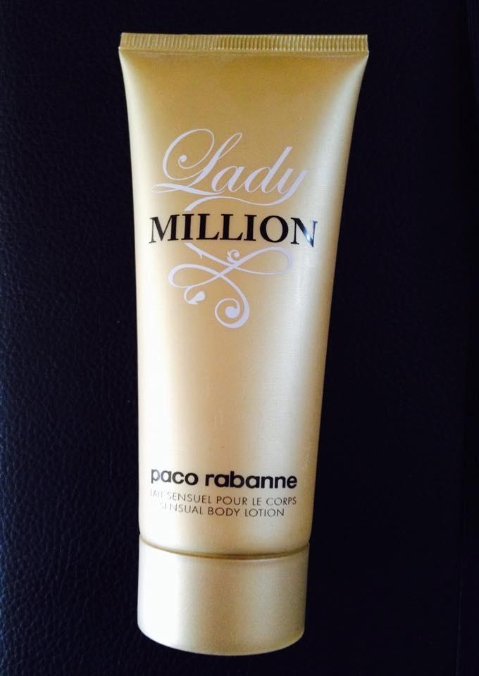 Lait Sensuel pour le corps – Lady Million de Paco Rabanne