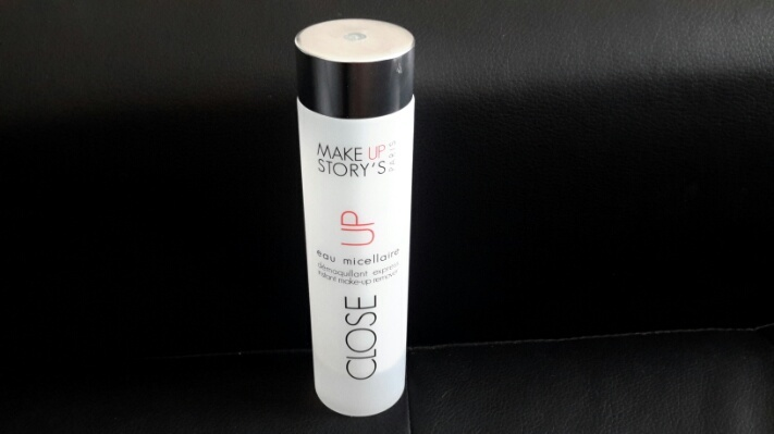 MAKE UP STORY'S eau micellaire démaquillant express