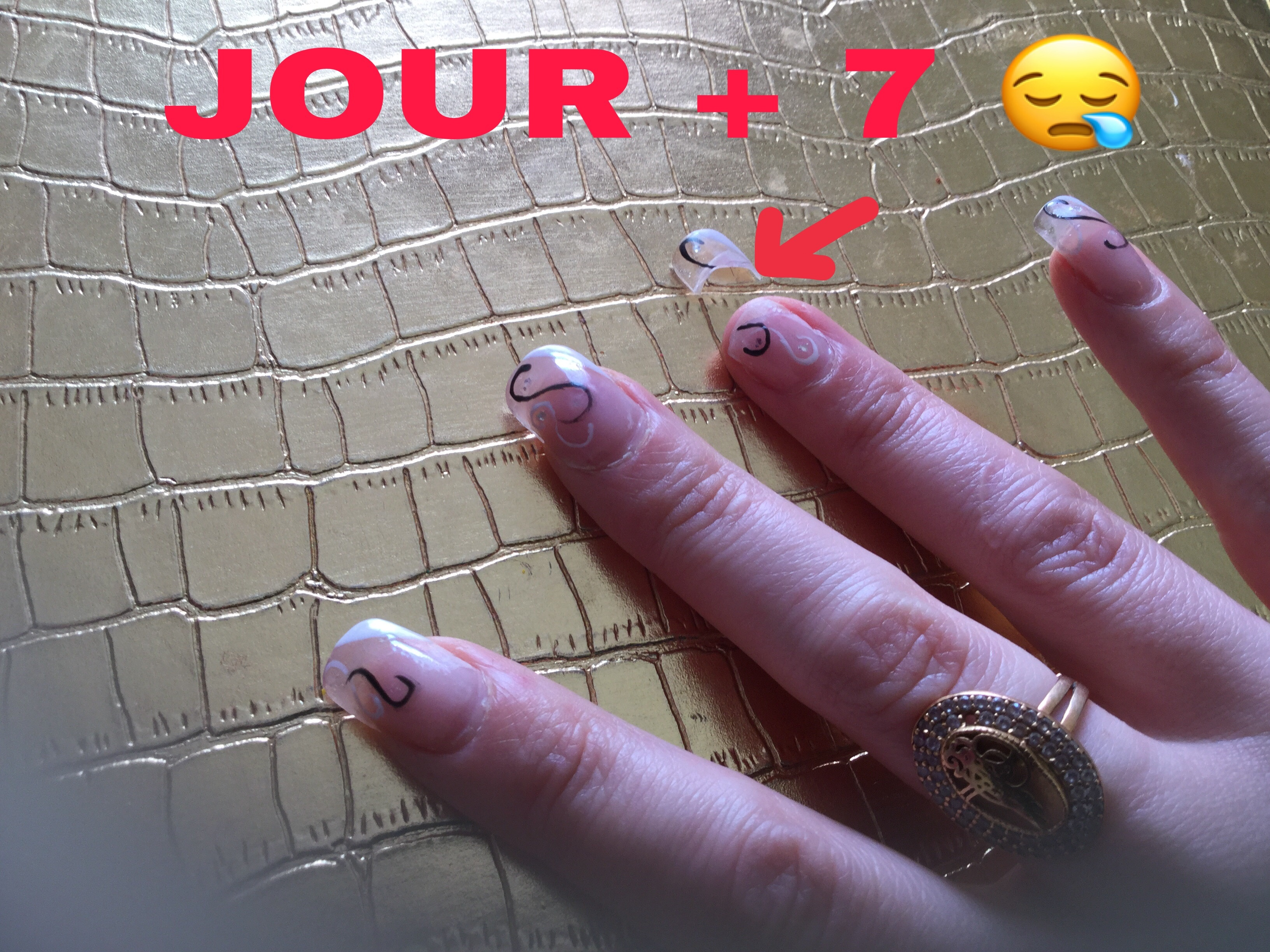 Vos diagnostics ? POSE en GEL ProNails : Jour + 7
