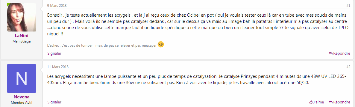 Cleaner ou disolvant
