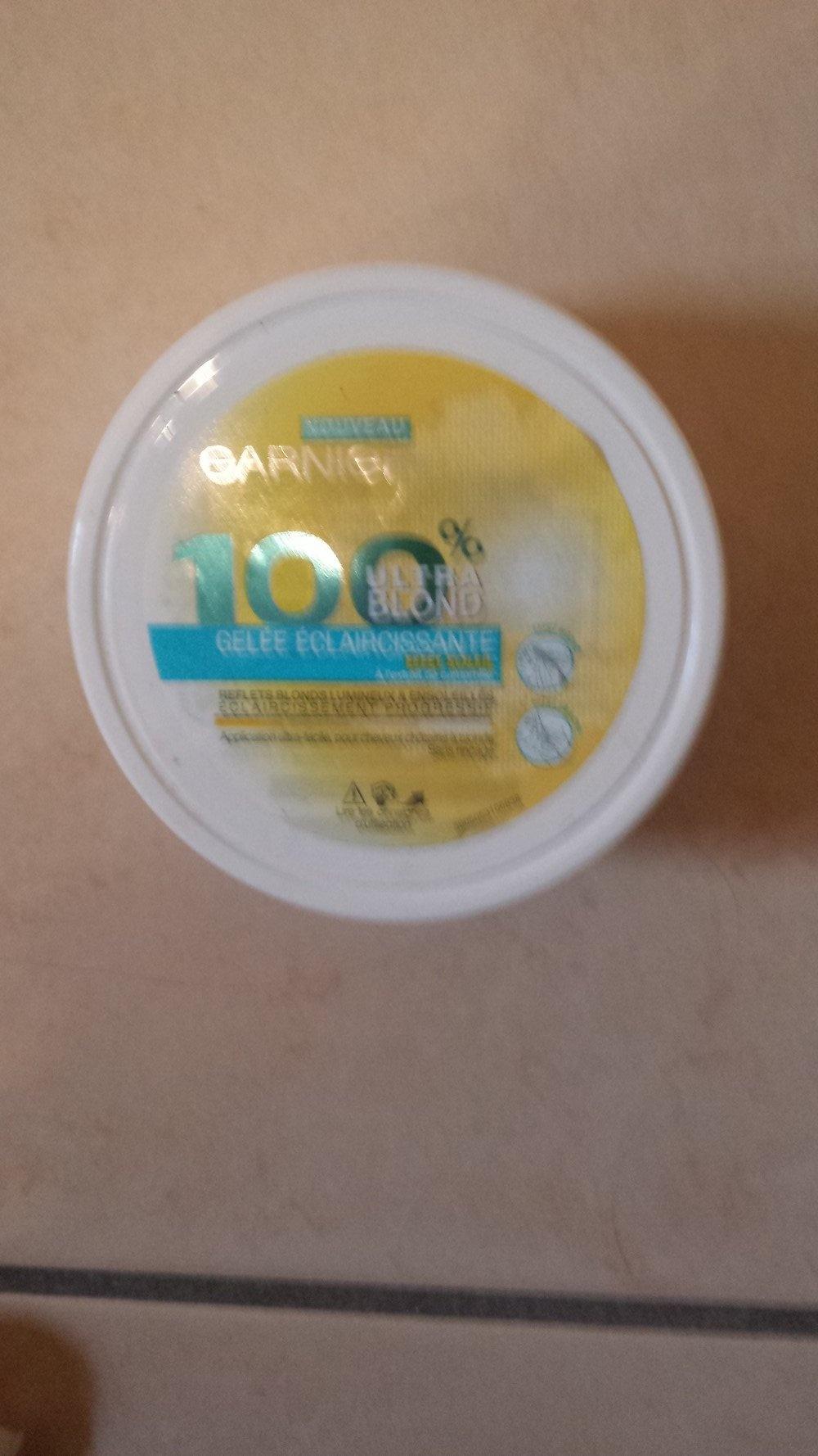 Gelée Eclaircissante - 100% Ultra Blond de Garnier