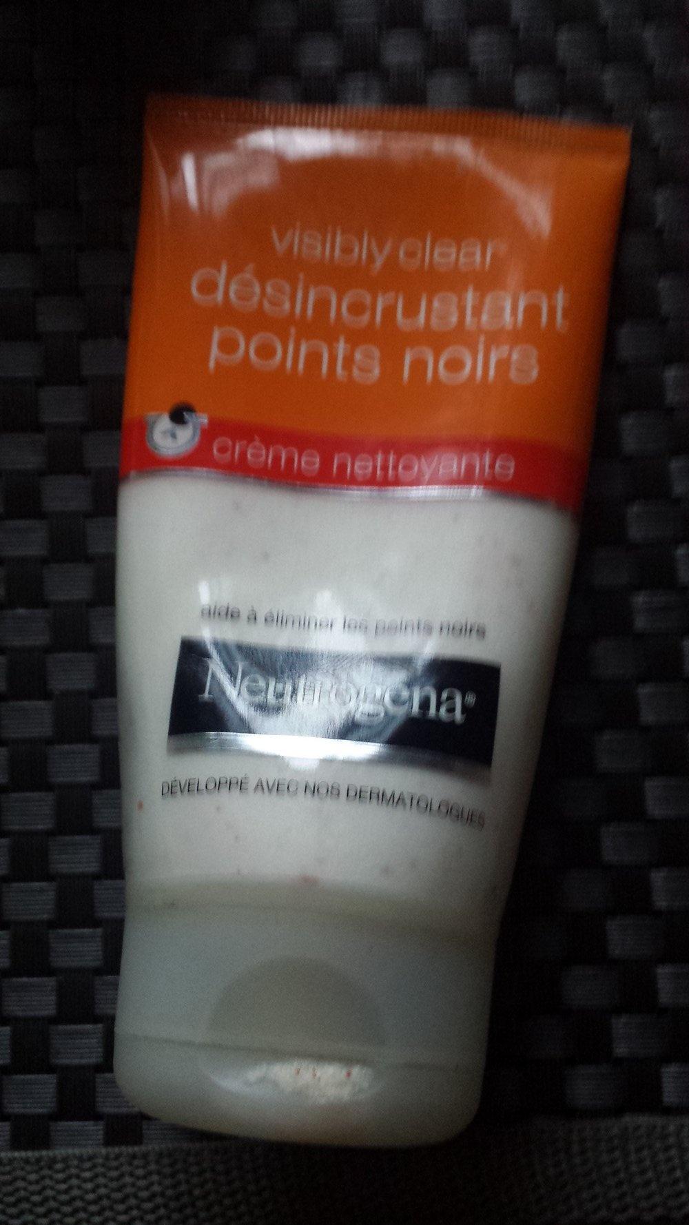 Crème désincrustante points noirs Visibly Clear de Neutrogena