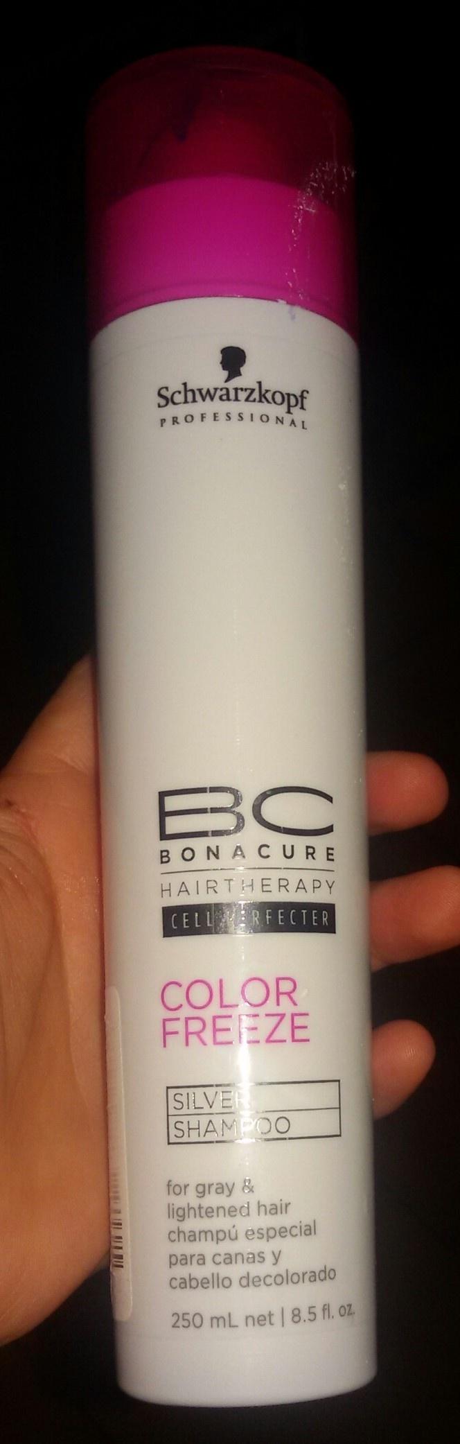 Silver Shampoo - BC Hairtherapy Color Freeze de Schwarzkopf Professional