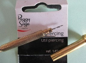 Outil piercing d'ongle Peggy Sage