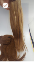 Extensions tissage rouge