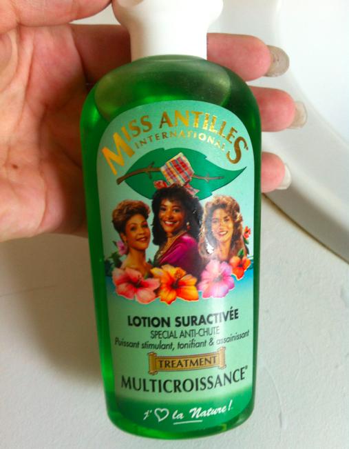 Miss Antilles International Lotion Suractivée Multicroissance