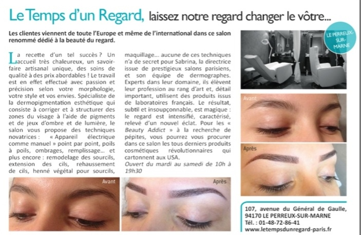 Le Temps D'un Regard sur Closer !!!