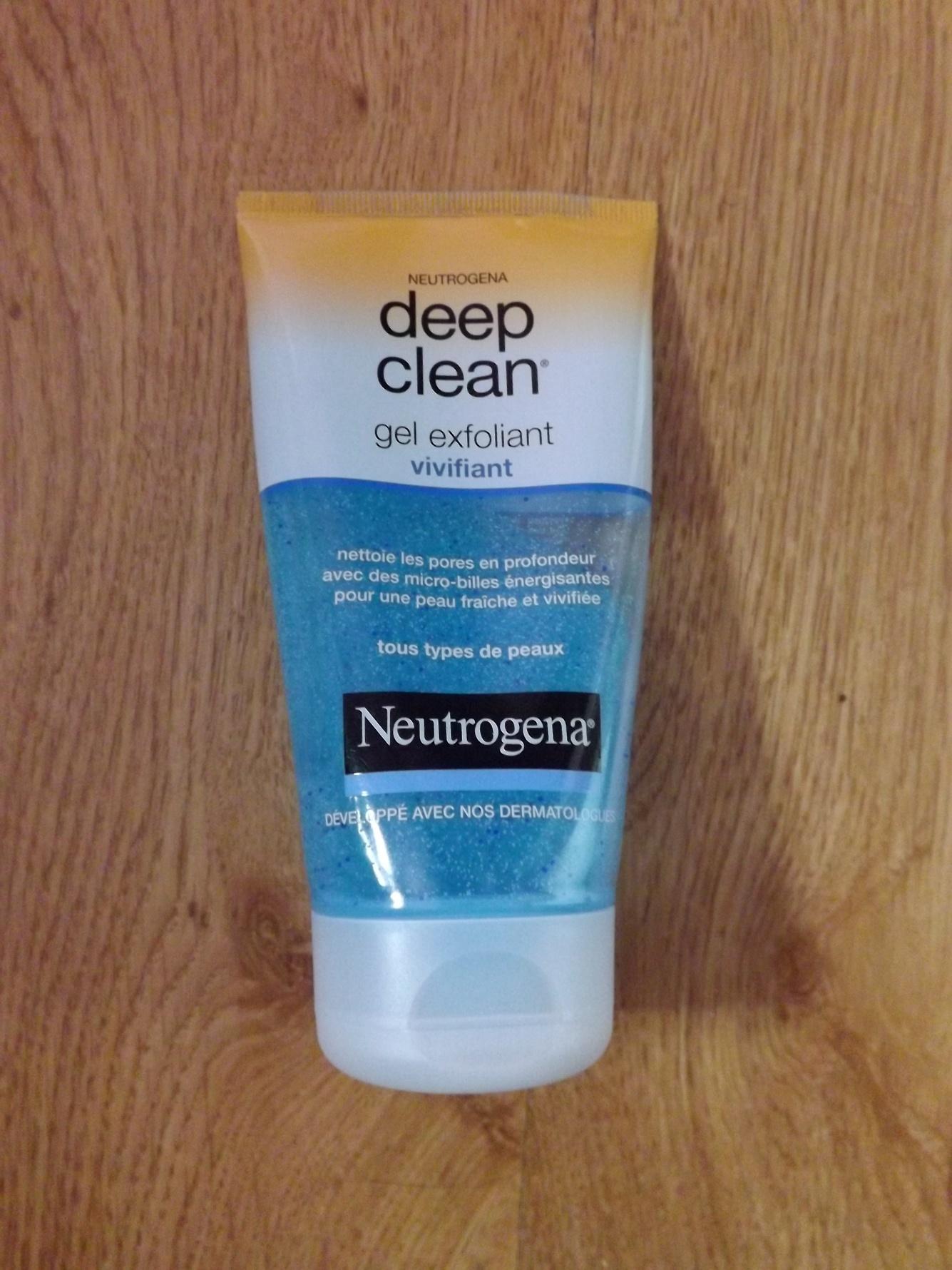 Gel Exfoliant Vivifiant - Deep Clean de Neutrogena