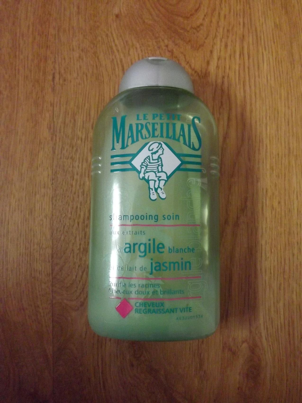 Shampooing Soin cheveux regraissant vite - Argile Jasmin par Le Petit Marseillais