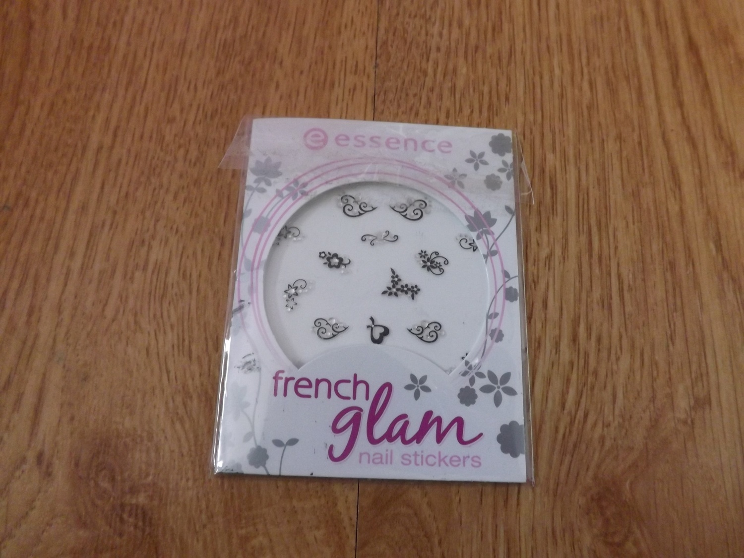 French Glam Nail Stickers - Essence