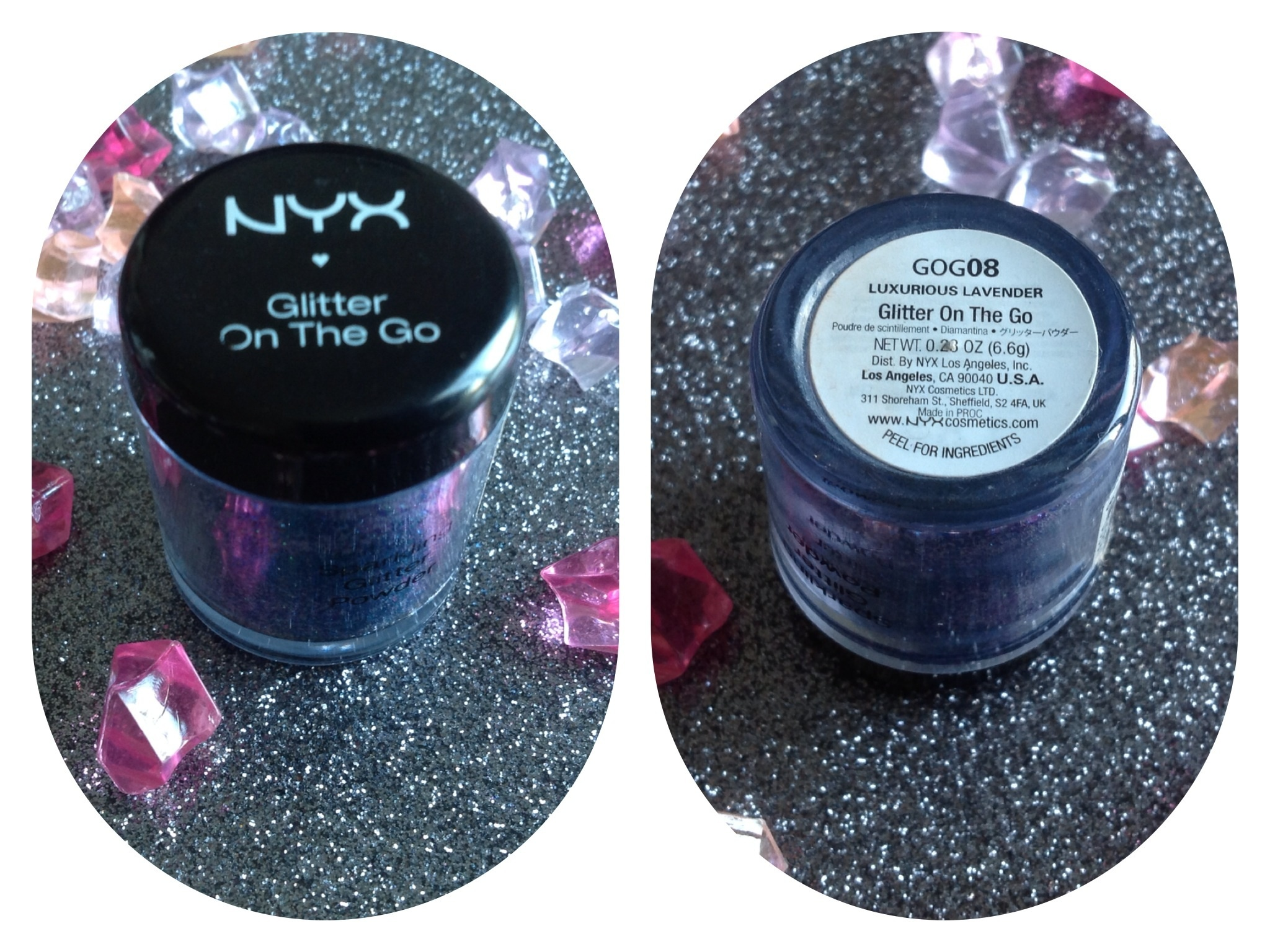 NYX - Paillettes Glitter On The Go