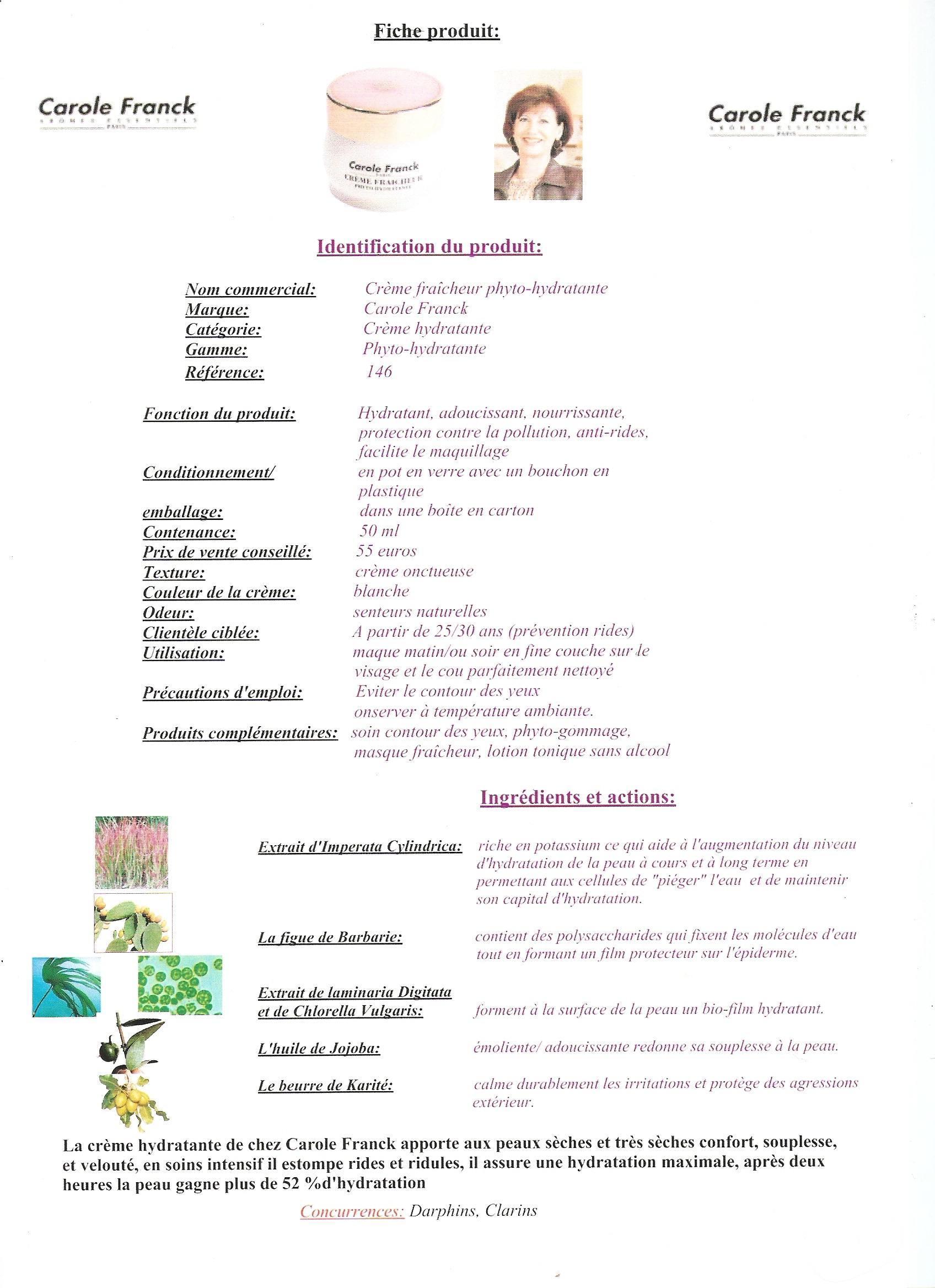 Referentiel Cap Esthetique 2012 Entraide Fiches R 233 Ponses