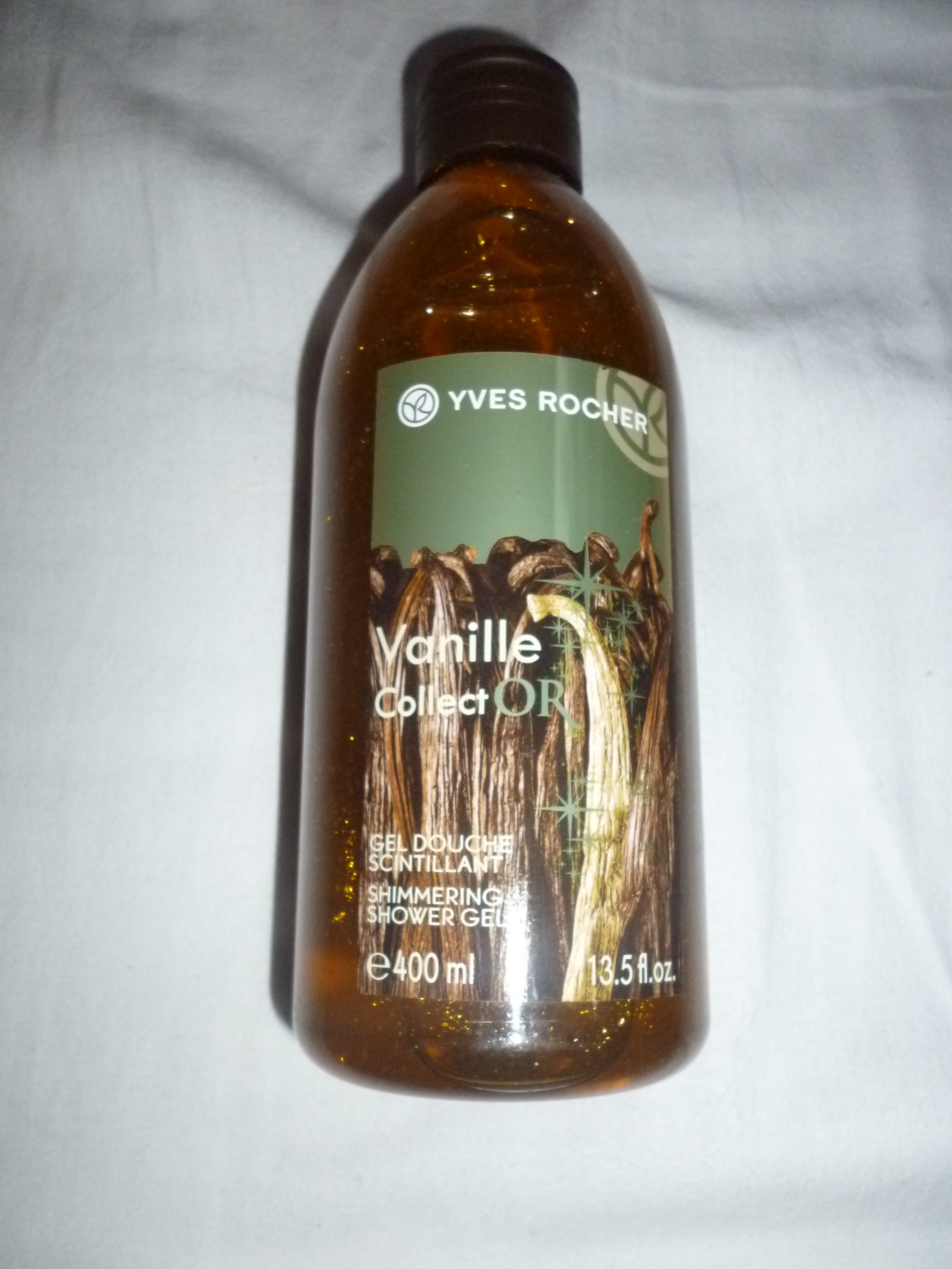 Gel douche scintillant Vanille Colect'or - Yves Rocher