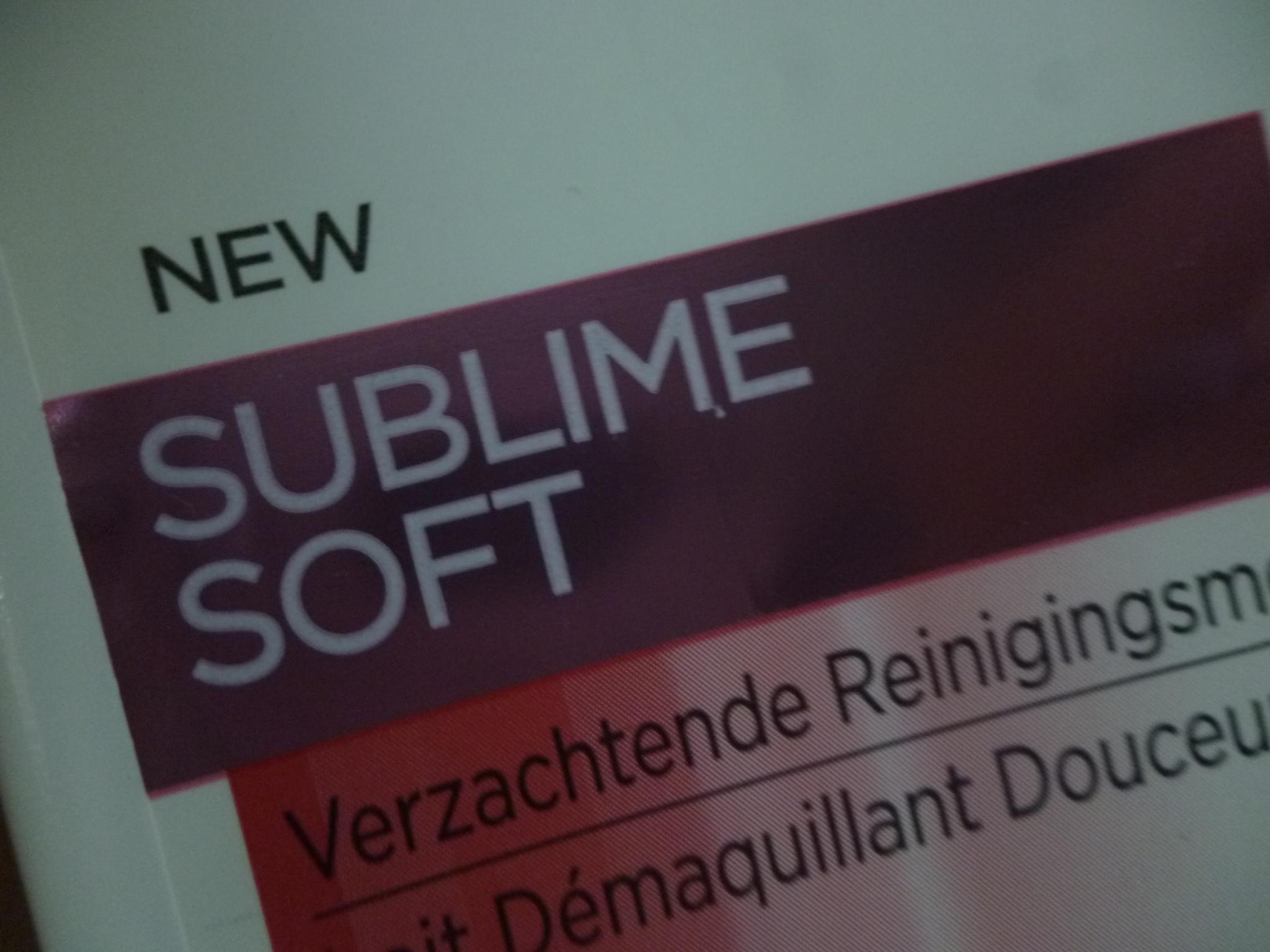 Lait démaquillant douceur Sublime Soft - L'Oréal