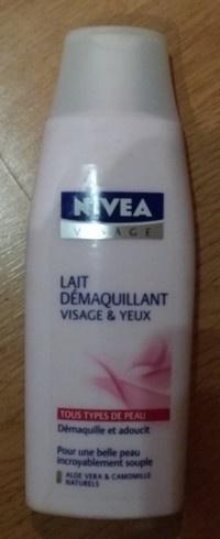 Lait Demaquillant Visage & Yeux de Nivea