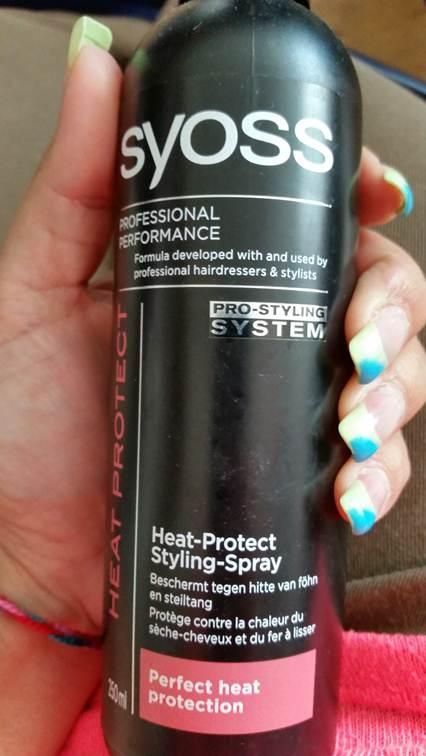 Heat Protect Styling Spray - Syoss
